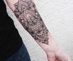 tattoo, ink, and art image