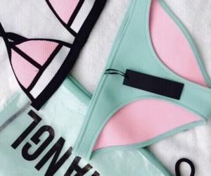 triangl, summer, and bikini image