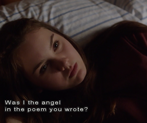 quotes, stuck in love, and angel image