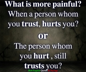 pain, quote, and word image