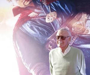 Marvel, stan lee, and doctor strange image