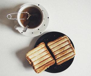 tea, food, and toast image