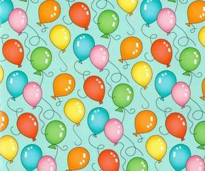 art, balloons, and celebration image