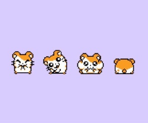 wallpaper, cute, and hamtaro image