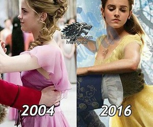 emma watson, hermione granger, and belle image
