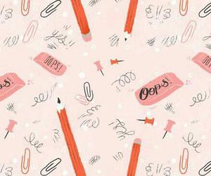 pencil, eraser, and school image