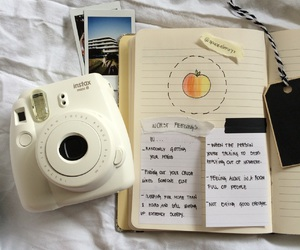 aesthetic, doodles, and instax image