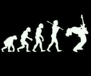 rock, evolution, and music image