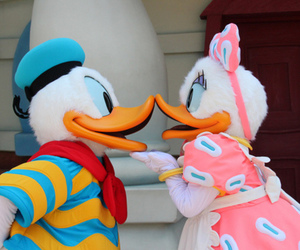 disney, duck, and daisy image