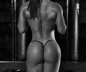 fitness, healthy, and squats image