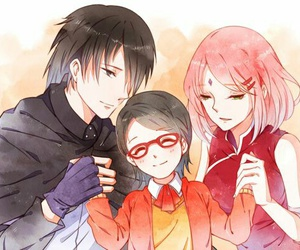 naruto, sasusaku, and sasuke image