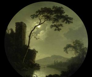 18th century, dark, and art image