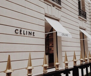celine, beige, and theme image