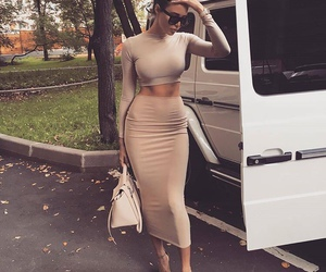 dress, lovely, and fashion image