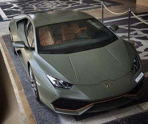 car and green image
