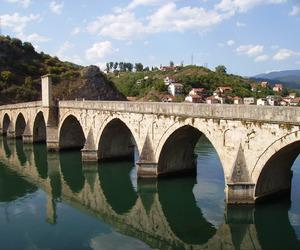 bosnia and herzegovina, višegrad bridge, and drina image