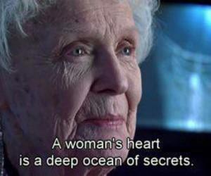 titanic, heart, and secret image