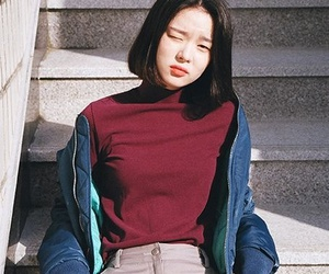 girl, aesthetic, and asian image