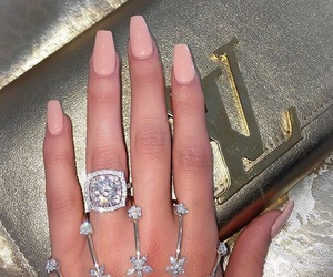 bling bling, engagement, and diamonds image
