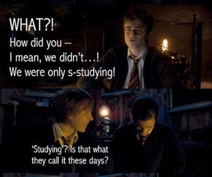 harry potter, funny, and drarry image