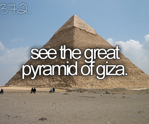 bucket list, before i die, and pyramid image