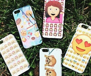 emoji, iphone, and case image