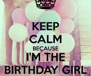 birthday, keep calm, and 16 image