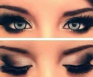 beautiful, eyes, and lashes image
