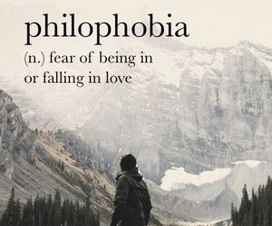 fear, love, and quotes image