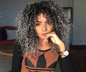 adidas, curls, and beauty image