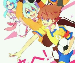 anime, fanart, and inazuma eleven go image