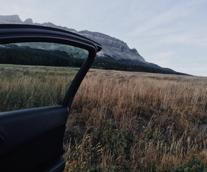 fall, sky, and travel image
