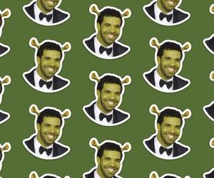Drake, green, and inspo image