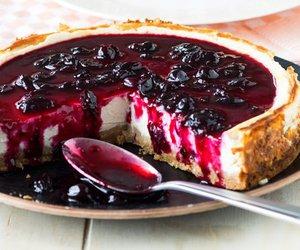 food, cheesecake, and sweet image