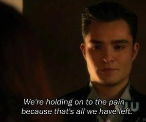 gossip girl, pain, and left image