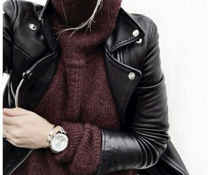 autumn, fashion, and black image