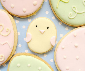 easter, Chicken, and Cookies image