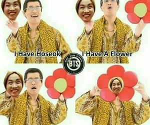 jhope, bangtan boys, and funny image