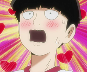 anime, mob, and cute image