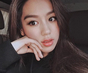 asian, korean, and korean girl image