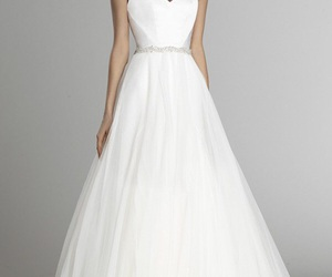 wedding dress, designer gowns, and bridal gowns image
