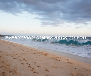 Lyrics, ocean, and song image