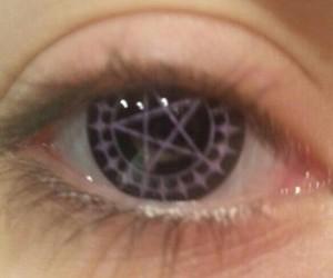 eye, eyes, and kuroshitsuji image