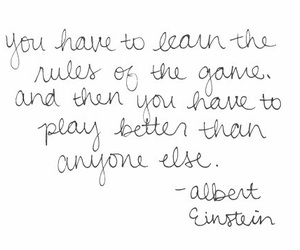 Albert Einstein, game, and life image