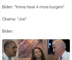 barack obama, funny, and joe biden image