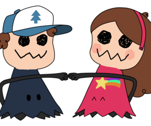 pokemon, gravity falls, and dipper pines image