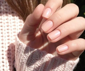 girl, manicure, and nails image