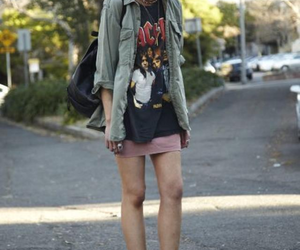 fashion, style, and ACDC image