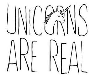 real and unicorn image