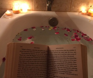 book, alternative, and bath image